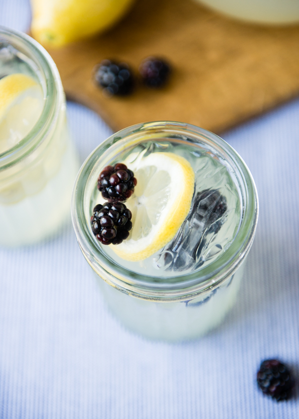 Lemonade Sparkler with Blackberries-2