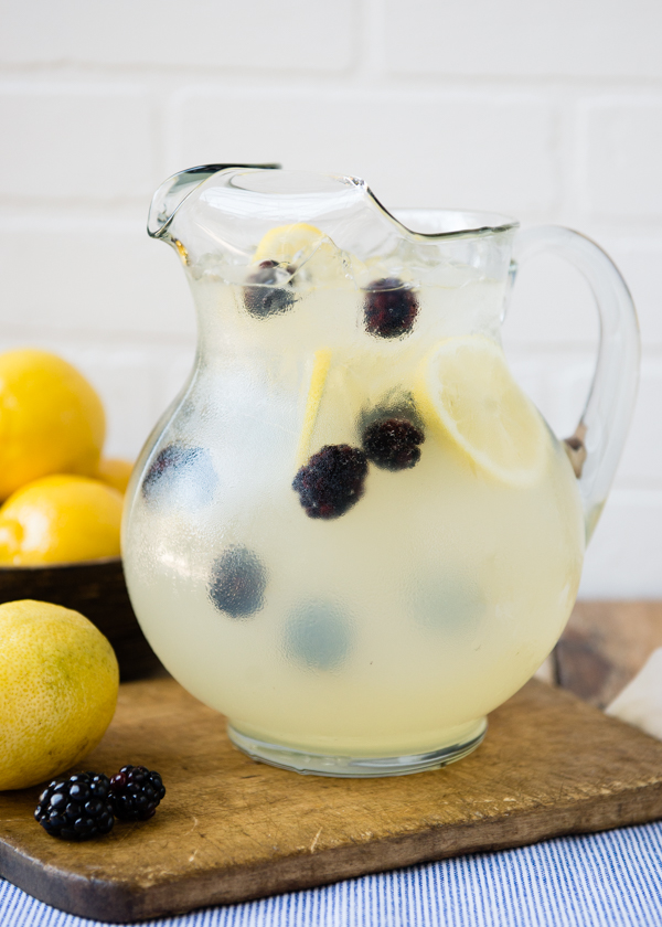 Pitcher of Lemonade Sparkler for the 4th of July-2