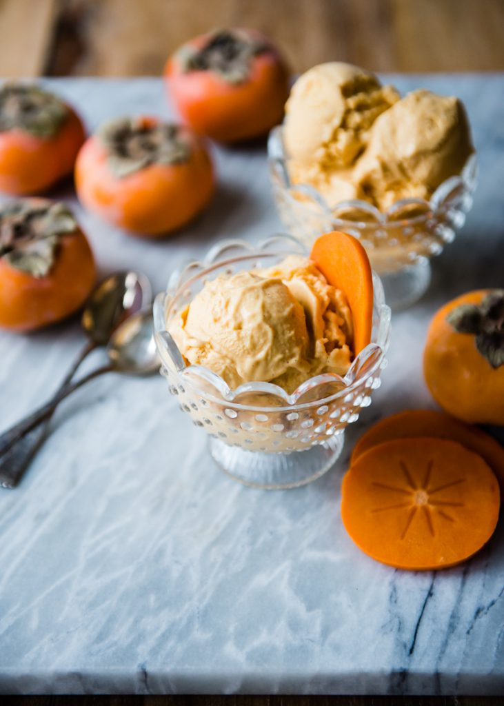 Persimmon Ice Cream