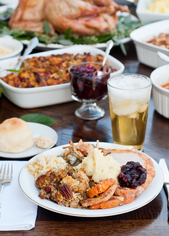Thanksgiving Menu and Blogger Potluck