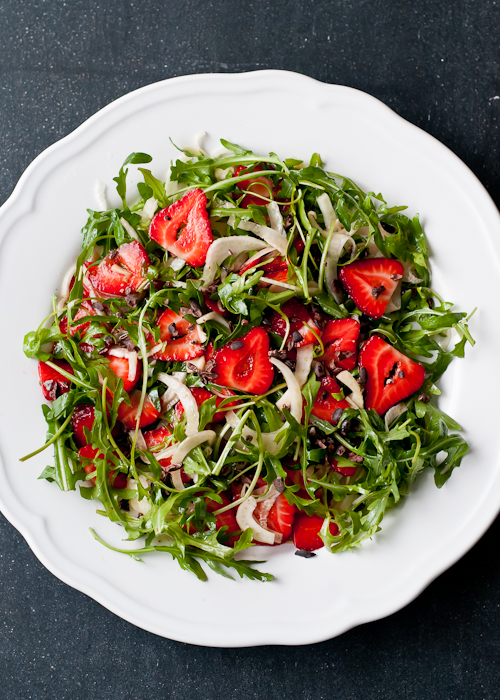 Strawberry, Fennel and Arugula Salad with Cacao Nibs ...
