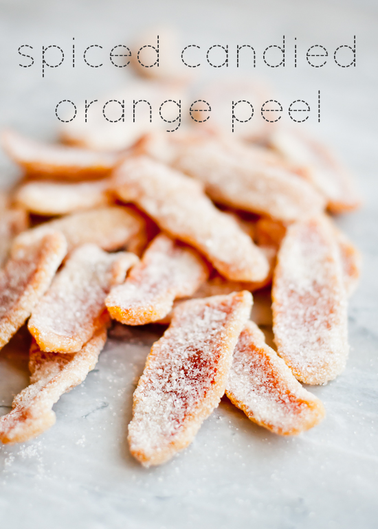 Spiced Candied Orange Peel | Cafe Johnsonia