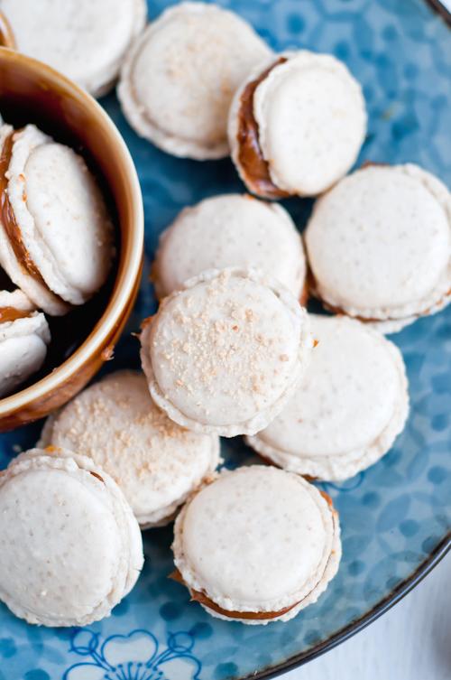 Cashew Dulce de Leche French Macaron Recipe | Cafe Johnsonia