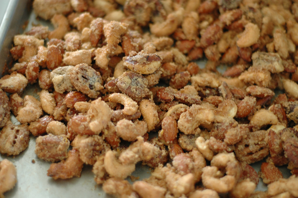 Orange Spiced Nuts | CafeJohnsonia.com