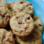 Hazelnut-Toffee Cookies