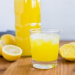 summer golden lemonade