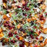 Gluten-Free Holiday Appetizer | Butternut Squash Goat Cheese Flatbread